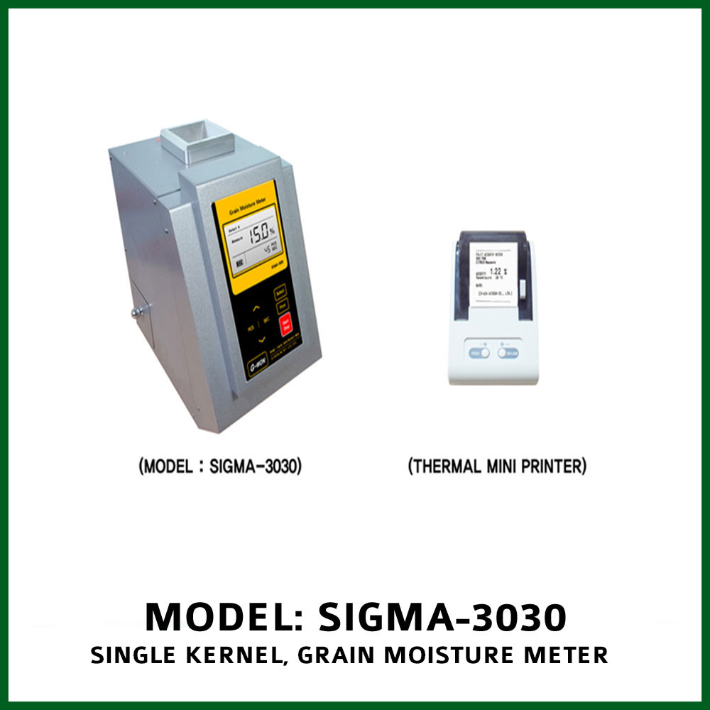 Grain measuring devices